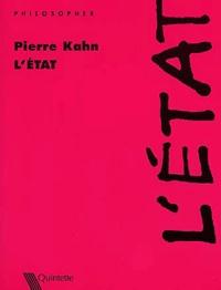 Pierre Kahn - L'Etat.