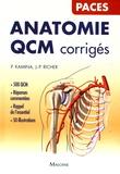 Pierre Kamina et Jean-Pierre Richer - Anatomie QCM corrigés.