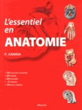 Pierre Kamina - L'essentiel en anatomie.
