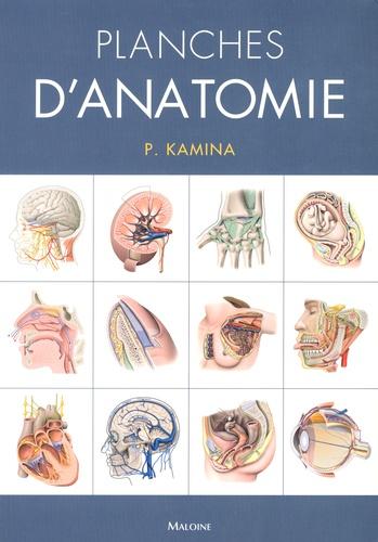 Pierre Kamina - Planches d'anatomie.