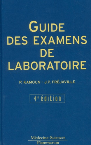Guide des examens de laboratoire  4ème édition