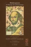 Pierre Kapitaniak - Shakespeare et l'Europe de la Renaissance - Actes du Congrès de 2004.