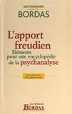 Pierre Kaufmann - L'apport freudien - Eléments pour une encyclopédie de la psychanalyse.