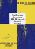 Pierre Kebaro - Applications économie BTS 1e année - Corrigés.