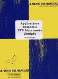 Pierre Kebaro - Applications économie BTS 2e année - Corrigés.
