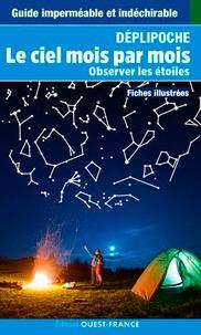 Le ciel mois par mois- Observer les étoiles. Fiches illustrées - Pierre Kholer |
