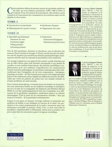 Psychiatrie clinique. Approche bio-psycho-sociale Tome 2, Spécialités psychiatriques et traitements 4e édition