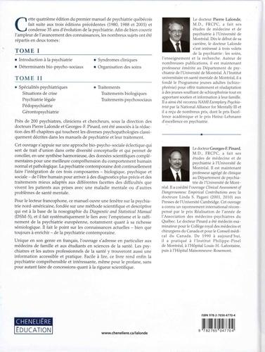 Psychiatrie clinique. Approche bio-psycho-sociale Tome 1, Introduction à la psychiatrie, déterminants bio-psycho-sociaux, syndromes cliniques et organisation des soins