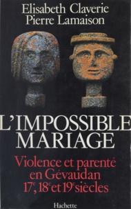 Pierre Lamaison et Elisabeth Claverie - .