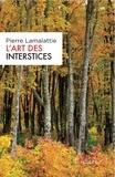 Pierre Lamalattie - L'art des interstices.