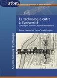 Pierre Lamard et Yves-Claude Lequin - La technologie entre à l'Université - Compiègne, Sevenans, Belfort-Montbéliard....