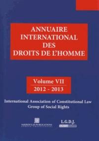 Pierre Lambert et Petros-J Pararas - Annuaire international des droits de l'homme - Volume 7, Dette souveraine et droits sociaux fondamentaux.
