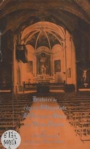 Pierre Lambrey et Maxime Birraux - Histoire de l'église St-Hippolyte, St François de Sales et le vieux Thonon.
