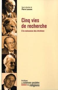 Pierre Lassave - Archives de sciences sociales des religions - Hors-série - R.