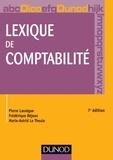 Pierre Lassègue et Frédérique Déjean - Lexique de comptabilité - 7e édition.