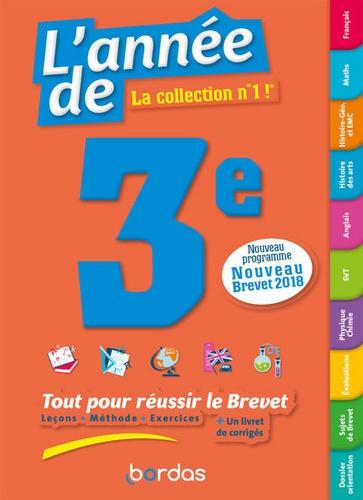 L'année de 3e  Edition 2019
