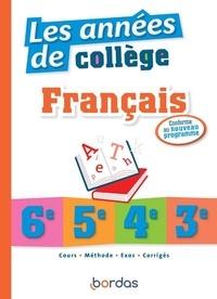 Pierre Le Gall et Sophie Pailloux-Riggi - Les années de collège Français.