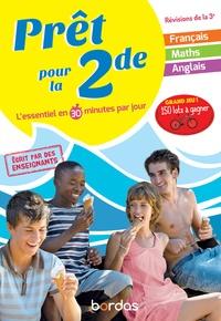 Pierre Le Gall et Cédric Bertone - Prêt pour la 2de - L'essentiel en 30 minutes par jour.