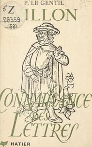 Pierre Le Gentil - Villon.
