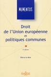 Pierre Le Mire - Droit de l'Union européenne et politiques communes.