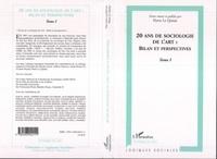 Pierre Le Quéau - 20 ans de sociologie de l'art : bilan et perspectives - Tome 1.