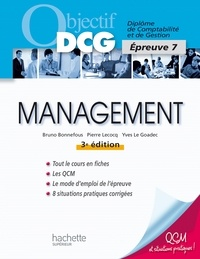 Pierre Lecocq et Bruno Bonnefous - Objectif DCG Management 2014 2015.