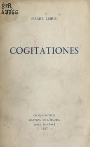 Pierre Leiris - Cogitationes.