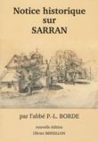 Pierre Léonard Borde - Notice historique sur Sarran.