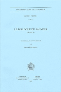 Pierre Létourneau - Le dialogue du sauveur - (NH III, 5).
