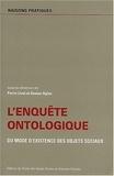 Pierre Livet et Ruwen Ogien - L'enquête ontologique. - Du mode d'existence des objets sociaux.