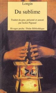 Pierre Longin - Du sublime.