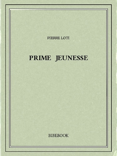 Prime jeunesse