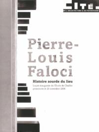 Alixetmika.fr Histoire sourde du lieu - Leçon inaugurale de l'Ecole de Chaillot prononcée le 20 novembre 2006 Image