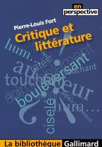 Pierre-Louis Fort - Critique et littérature.