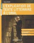 Pierre Lyraud - L'explication de texte littéraire à l'oral.