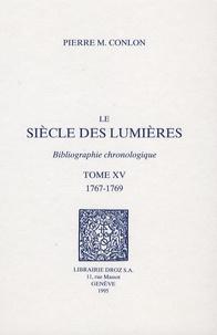 Deedr.fr Le siècle des Lumières - Bibliographie chronologique Tome 15, 1767-1769 Image