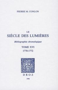 Cjtaboo.be Le siècle des Lumières - Bibliographie chronologique Tome 16, 1770-1772 Image