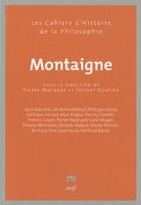 Pierre Magnard et Thierry Gontier - Montaigne.
