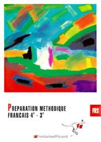 Deedr.fr Français 4ème-3ème Préparation méthodique Image
