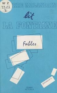Pierre Malandain - La Fable et l'intertexte.