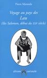 Pierre Maranda - Voyage au pays des Lau (îles Salomon, début du XXIe siècle) - Le déclin d'une gynécocratie.