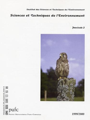 Pierre-Marie Badot - Sciences et techniques de l'environnement - Fascicule 2, 1999/2000.