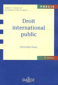 Pierre-Marie Dupuy - Droit international public.