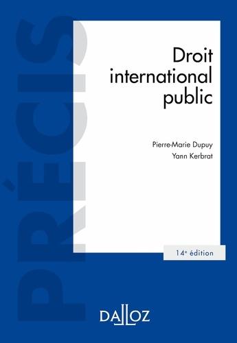 Droit international public 14e édition