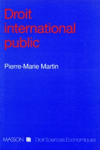 Pierre-Marie Martin - Droit international public.