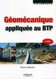 Pierre Martin - Géomécanique appliquée au BTP.