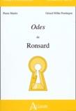 Pierre Martin et Gérard Milhe Poutingon - Odes de Ronsard. - Les quatre premiers et le cinquième livre des odes (1550-1552).