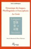 Pierre Martinez - Dynamique des langues, plurilinguisme et francophonie - La Corée.