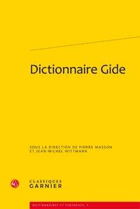 Pierre Masson - Dictionnaire Gide.