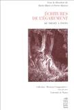 Pierre Masson et Marie Blain - Ecritures de l'Egarement - De Thésée à Tintin.